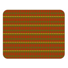 Fugly Christmas Xmas Pattern Double Sided Flano Blanket (Large)