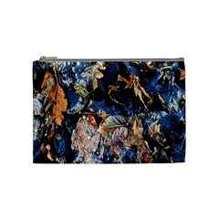 Frost Leaves Winter Park Morning Cosmetic Bag (Medium)