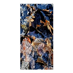 Frost Leaves Winter Park Morning Shower Curtain 36  x 72  (Stall)