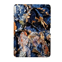 Frost Leaves Winter Park Morning Samsung Galaxy Tab 2 (10 1 ) P5100 Hardshell Case