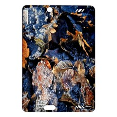 Frost Leaves Winter Park Morning Amazon Kindle Fire HD (2013) Hardshell Case