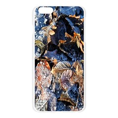 Frost Leaves Winter Park Morning Apple Seamless iPhone 6 Plus/6S Plus Case (Transparent)