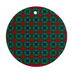 Geometric Patterns Ornament (Round)