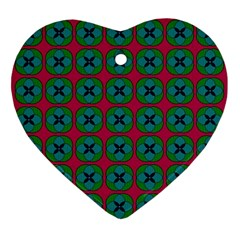 Geometric Patterns Ornament (Heart)