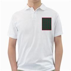 Geometric Patterns Golf Shirts