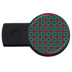 Geometric Patterns USB Flash Drive Round (1 GB)