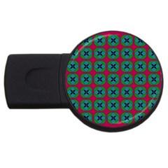 Geometric Patterns USB Flash Drive Round (4 GB)