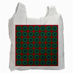 Geometric Patterns Recycle Bag (One Side)