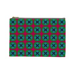 Geometric Patterns Cosmetic Bag (Large)