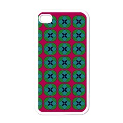 Geometric Patterns Apple iPhone 4 Case (White)