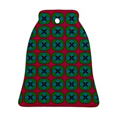 Geometric Patterns Bell Ornament (Two Sides)
