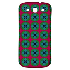 Geometric Patterns Samsung Galaxy S3 S III Classic Hardshell Back Case