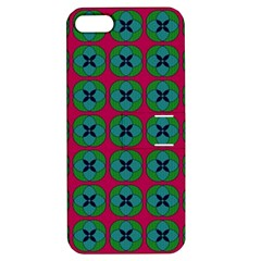 Geometric Patterns Apple Iphone 5 Hardshell Case With Stand