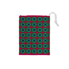 Geometric Patterns Drawstring Pouches (Small)