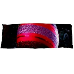 Glass Ball Decorated Beautiful Red Body Pillow Case Dakimakura (two Sides)