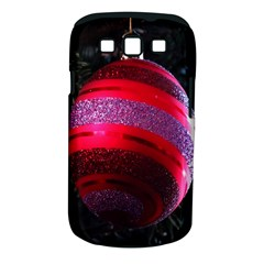 Glass Ball Decorated Beautiful Red Samsung Galaxy S Iii Classic Hardshell Case (pc+silicone)