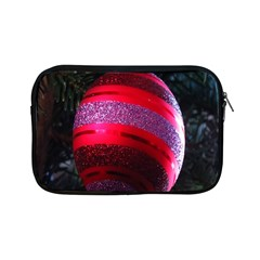 Glass Ball Decorated Beautiful Red Apple iPad Mini Zipper Cases