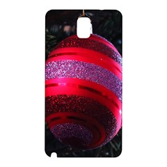 Glass Ball Decorated Beautiful Red Samsung Galaxy Note 3 N9005 Hardshell Back Case