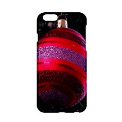 Glass Ball Decorated Beautiful Red Apple Iphone 6/6s Hardshell Case