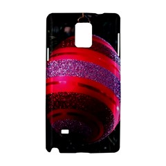 Glass Ball Decorated Beautiful Red Samsung Galaxy Note 4 Hardshell Case