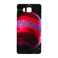 Glass Ball Decorated Beautiful Red Samsung Galaxy Alpha Hardshell Back Case
