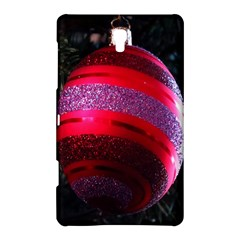 Glass Ball Decorated Beautiful Red Samsung Galaxy Tab S (8.4 ) Hardshell Case