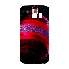 Glass Ball Decorated Beautiful Red Galaxy S6 Edge