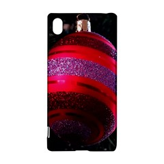 Glass Ball Decorated Beautiful Red Sony Xperia Z3+