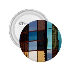 Glass Facade Colorful Architecture 2.25  Buttons