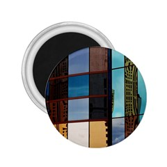 Glass Facade Colorful Architecture 2.25  Magnets