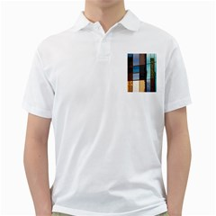 Glass Facade Colorful Architecture Golf Shirts
