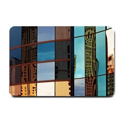 Glass Facade Colorful Architecture Small Doormat