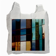 Glass Facade Colorful Architecture Recycle Bag (Two Side)