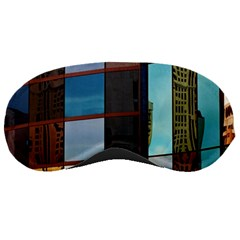 Glass Facade Colorful Architecture Sleeping Masks