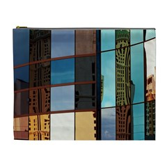 Glass Facade Colorful Architecture Cosmetic Bag (XL)