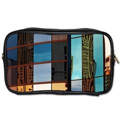 Glass Facade Colorful Architecture Toiletries Bags 2-Side