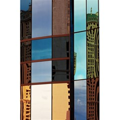 Glass Facade Colorful Architecture 5.5  x 8.5  Notebooks