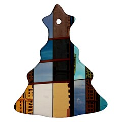 Glass Facade Colorful Architecture Ornament (christmas Tree)