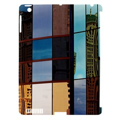 Glass Facade Colorful Architecture Apple Ipad 3/4 Hardshell Case (compatible With Smart Cover)