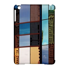 Glass Facade Colorful Architecture Apple iPad Mini Hardshell Case (Compatible with Smart Cover)