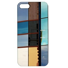 Glass Facade Colorful Architecture Apple Iphone 5 Hardshell Case With Stand