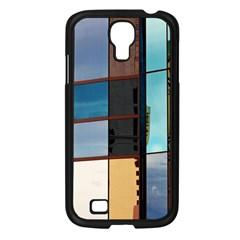Glass Facade Colorful Architecture Samsung Galaxy S4 I9500/ I9505 Case (black)