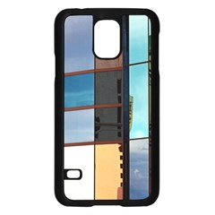 Glass Facade Colorful Architecture Samsung Galaxy S5 Case (Black)