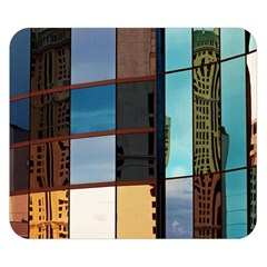 Glass Facade Colorful Architecture Double Sided Flano Blanket (Small)