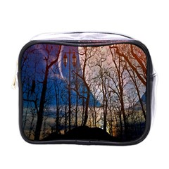 Full Moon Forest Night Darkness Mini Toiletries Bags