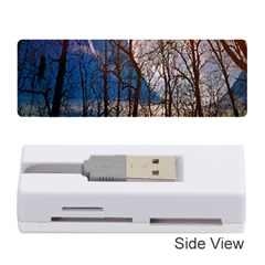 Full Moon Forest Night Darkness Memory Card Reader (Stick)
