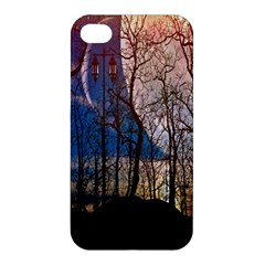 Full Moon Forest Night Darkness Apple iPhone 4/4S Hardshell Case