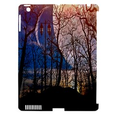 Full Moon Forest Night Darkness Apple Ipad 3/4 Hardshell Case (compatible With Smart Cover)