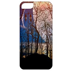 Full Moon Forest Night Darkness Apple Iphone 5 Classic Hardshell Case