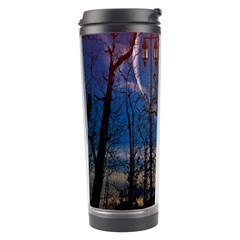 Full Moon Forest Night Darkness Travel Tumbler